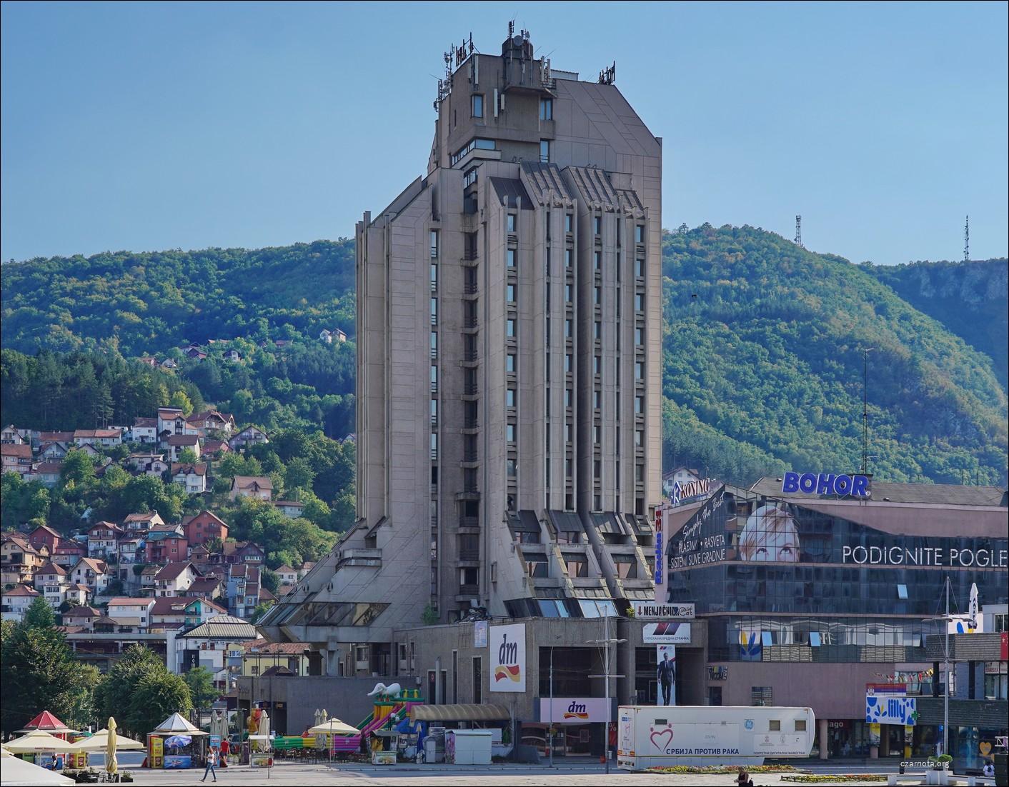 Jugosłowiański Beton, Serbia, Užice, Hotel Zlatibor
