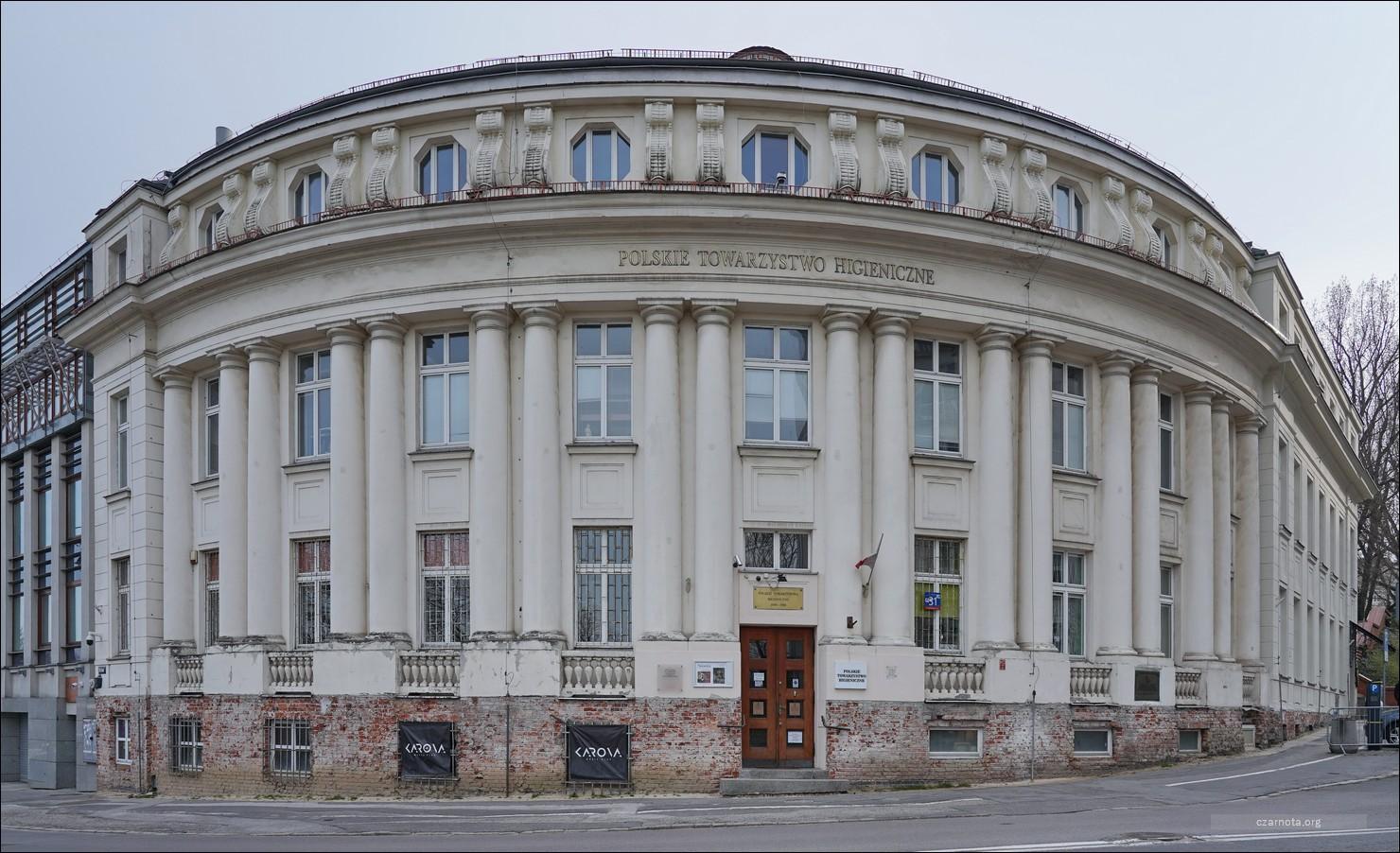 Warszawa, ul. Karowa 31, Polskie Towarzystwo Higieniczne