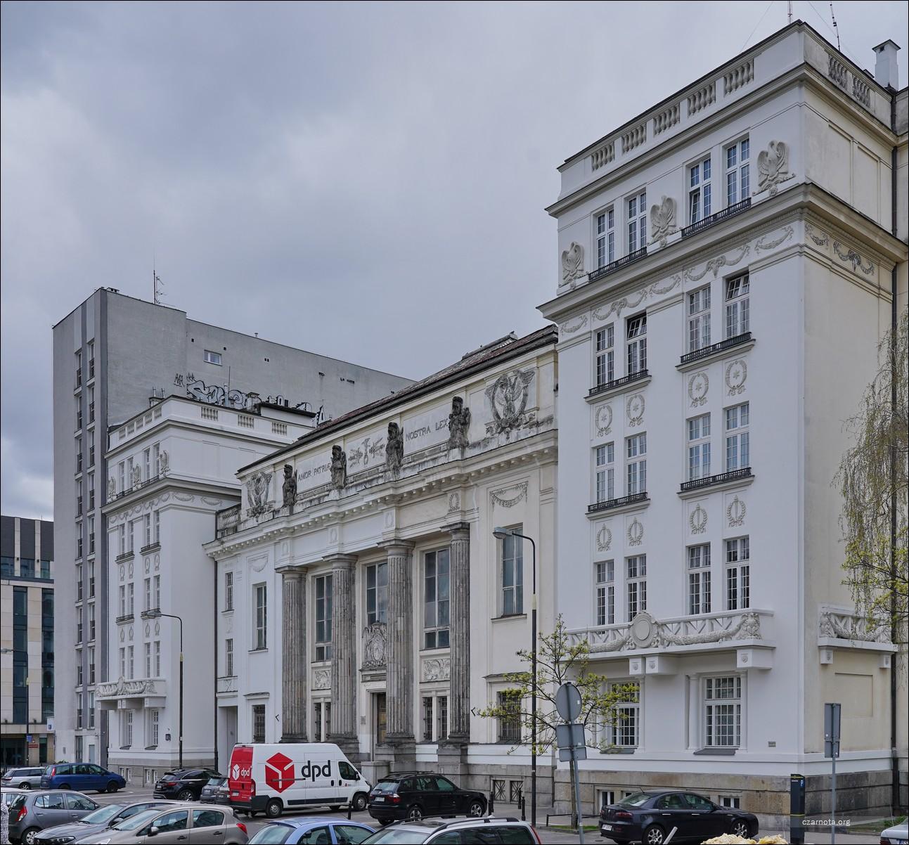 Warszawa, ul. Okólnik 9, Biblioteka Ordynacji Krasińskich w 2010 i 2021