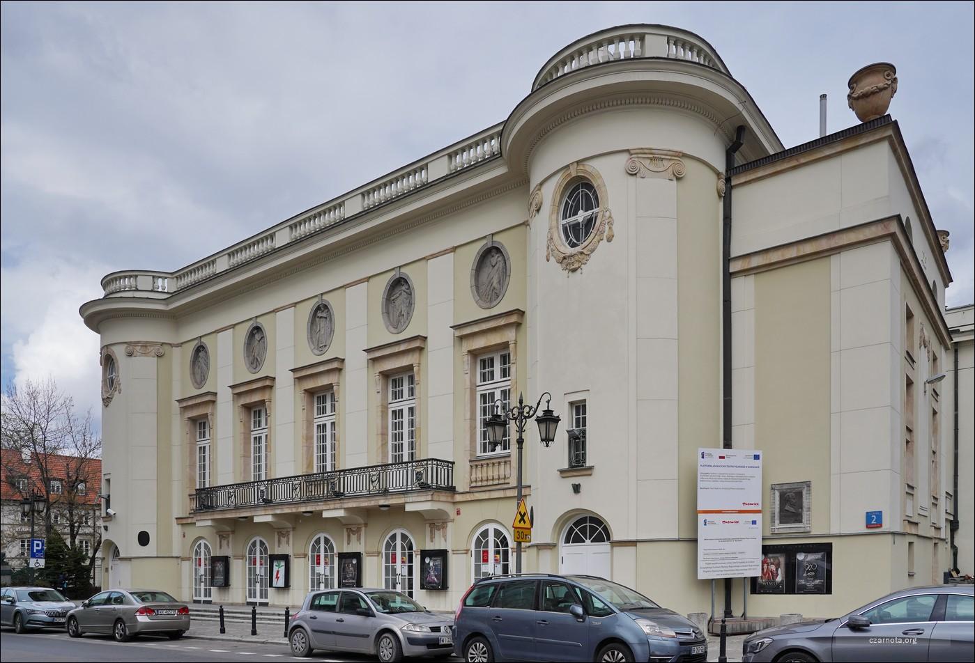 Warszawa, ul. Kazimierza Karasia 2, Teatr Polski im Arnolda Szyfmana w Warszawie w 2010 i 2021