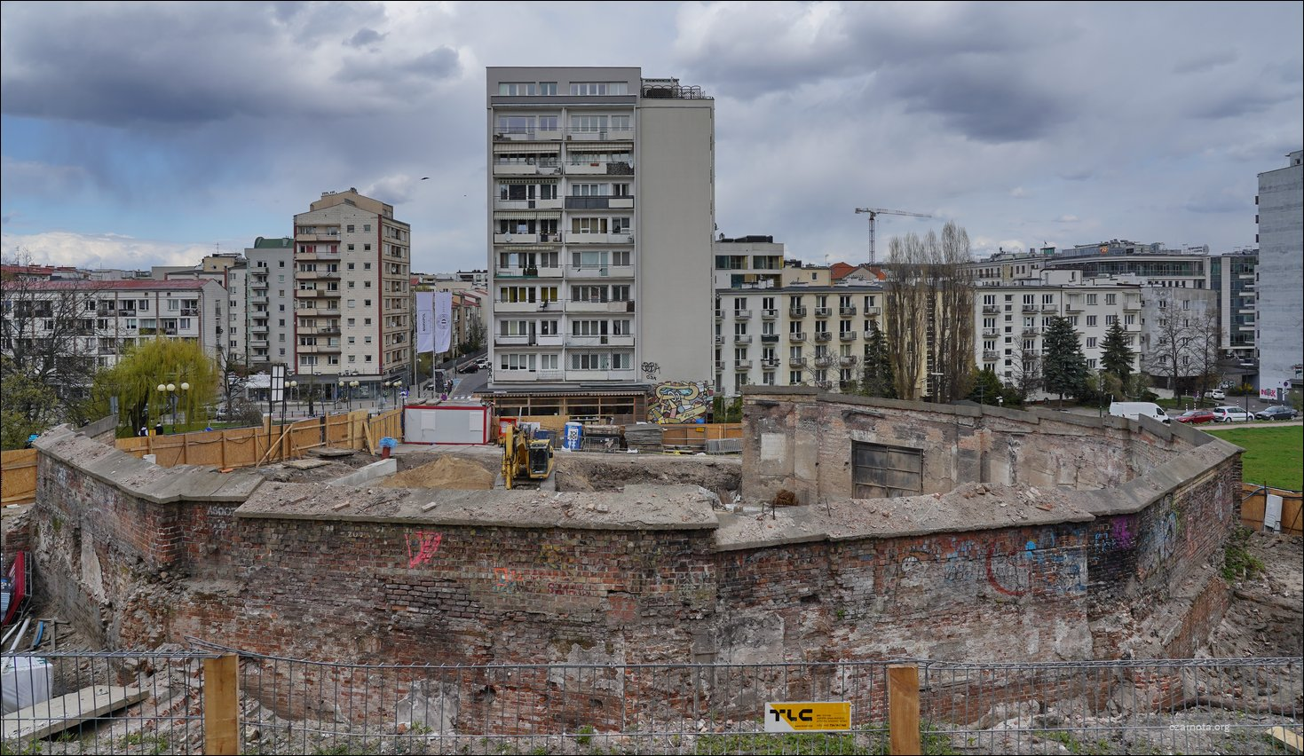 Warszawa ul. Oboźna 3/5 Rotunda Dynasy