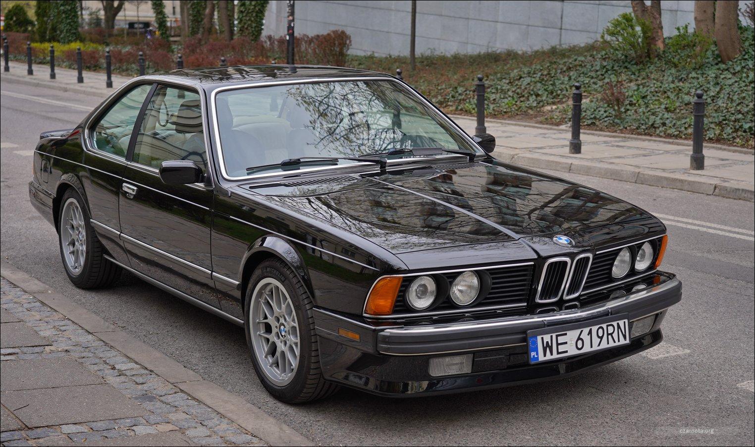 Classic BMW 6 series E24