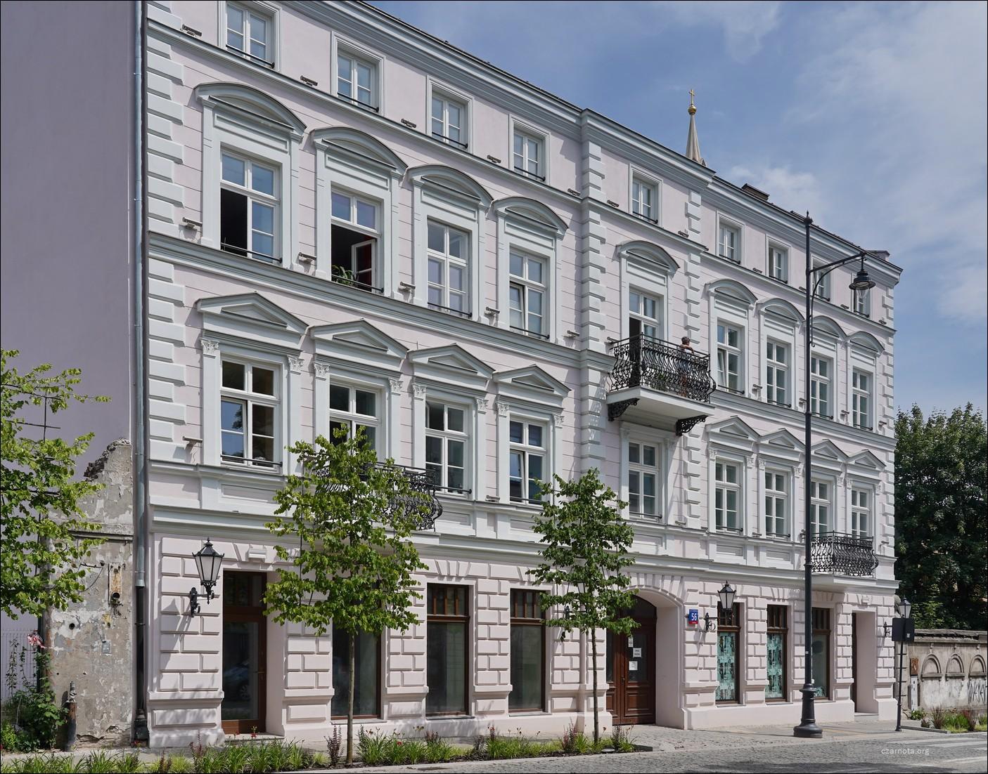 Łódź, ul. Sienkiewicza 56 w 2020 i 2021