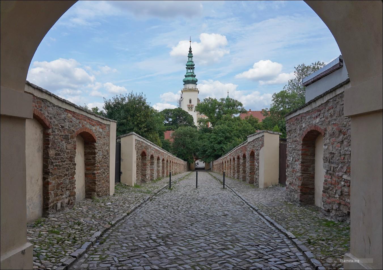 Zespół klasztorny opactwa cysterskiego w Henrykowie w 2012 i 2021