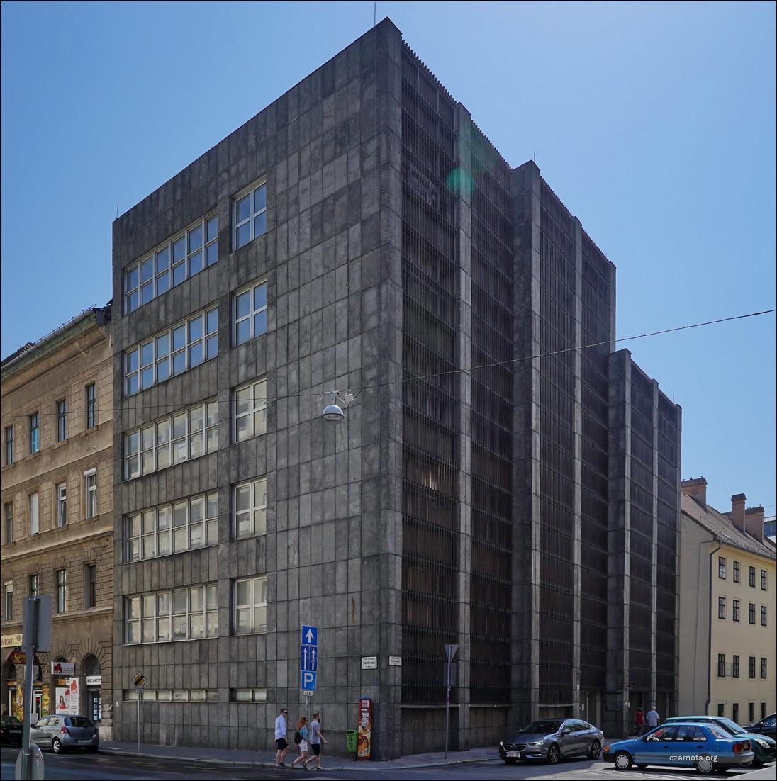 Hungary, Węgry, Budapest, Budapeszt, Gyorskocsi 5-7 u. OMIKK HQ